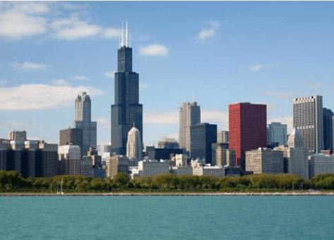 Chicago and northeastern Illinois suburbs
