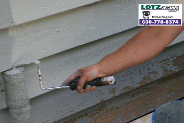 Painting trimwork lotz painting blog for Exterior wood siding painting preparation