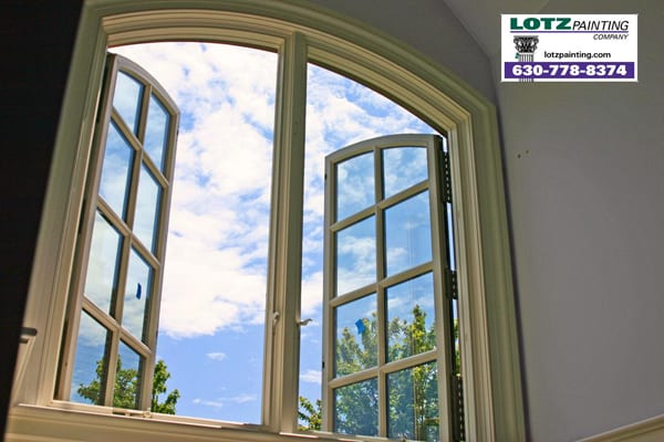 interior window painting, interior trimwork painting; Plainfield, IL painting contractor