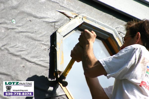rotten-wood-replacement-painting-company-carpentry-Naperville-painting-contractor