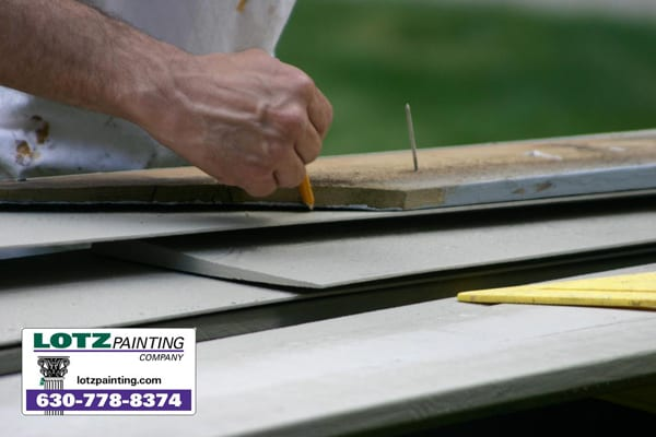 wood siding replacement, rotten wood siding, naperville general contractor