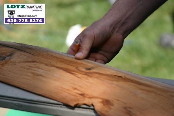wood siding replacement, rotten siding, warped siding boards, naperville contractor