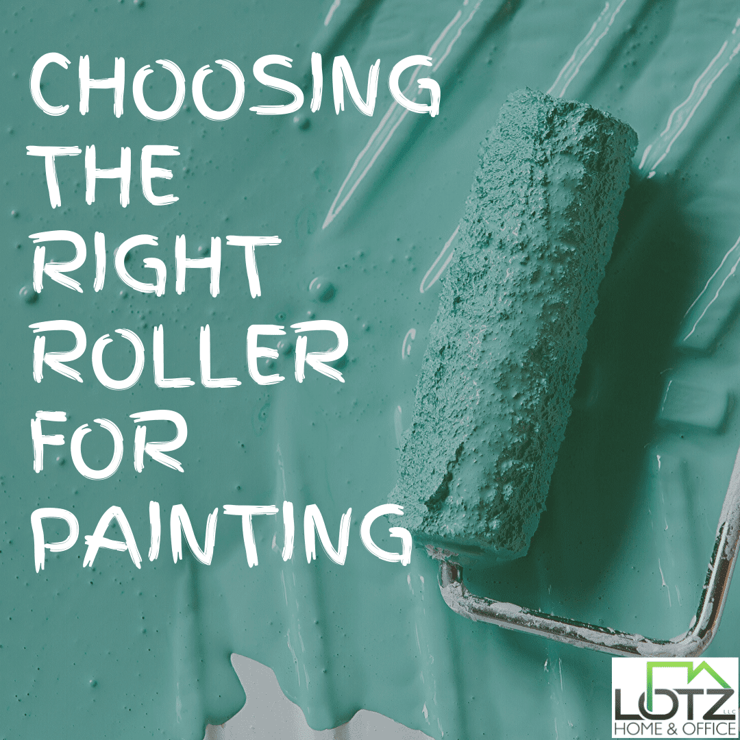 choosing the right roller for painting