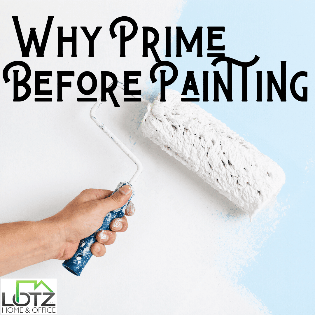 why prime before painting