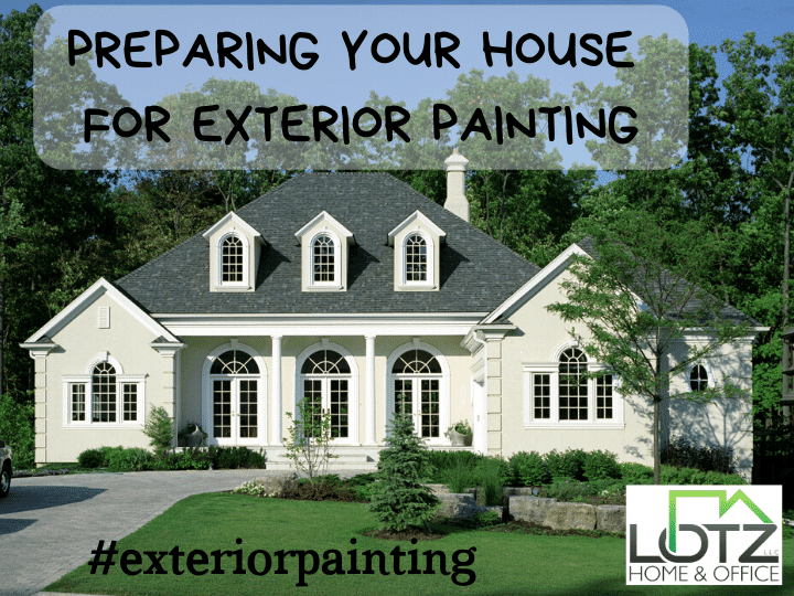 top 3 things to prepare for exterior paint job
