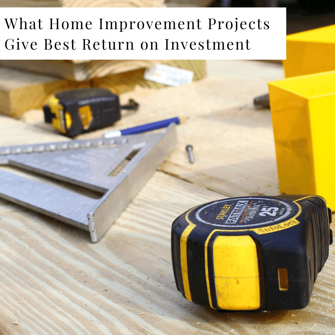 Best ROI Home Improvement Projects | Tinley Park IL