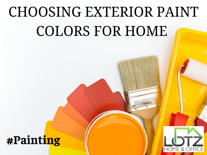choosing exterior house color