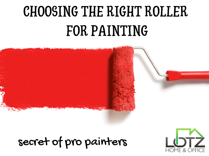 what is the right roller for painting