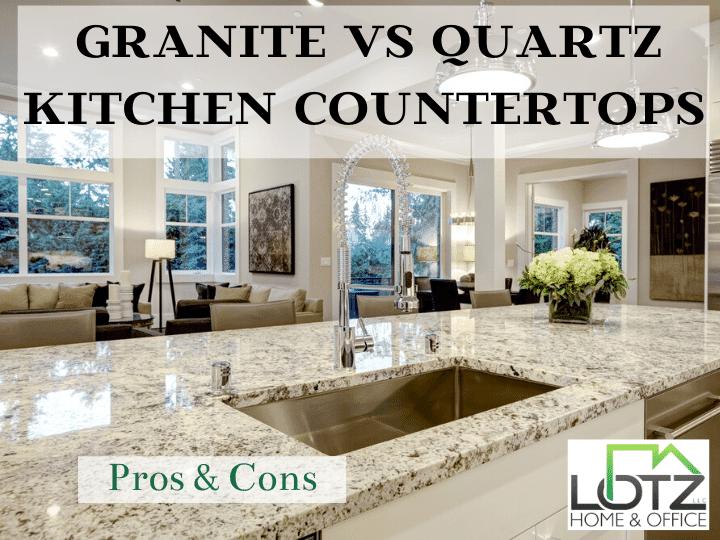 granite or quartz countertops for your kitchen | darien IL